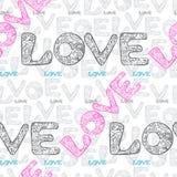 Miłość opakunkowy papier Obraz Royalty Free