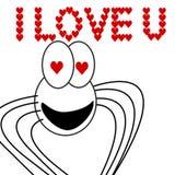 miłość pająk Fotografia Royalty Free