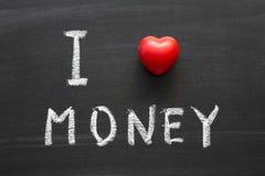 Miłość pieniądze Zdjęcie Royalty Free