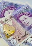 miłość pieniądze nie Zdjęcia Stock