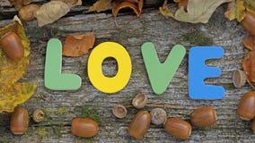 Miłość pisać zdjęcie royalty free
