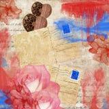 miłość pocztówki ilustracja wektor