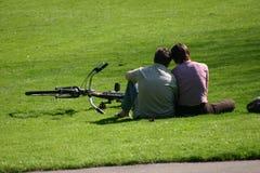 miłość powietrza Zdjęcia Royalty Free