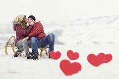 miłość powietrza Zdjęcia Stock