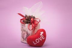 Miłość prezent Zdjęcia Stock