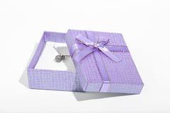 Miłość prezenta pudełko Obrazy Royalty Free