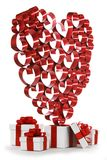 Miłość prezenty Fotografia Stock