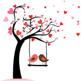 Miłość ptaki Obraz Royalty Free