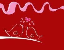 Miłość ptaki Zdjęcie Royalty Free