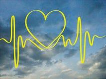 Miłość puls Obraz Stock