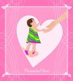 miłość rodzicielska Fotografia Stock