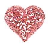 Miłość serc tło Zdjęcia Stock