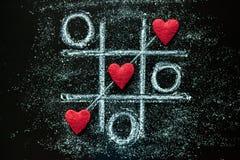 Miłość serca na drewnianym tekstury tle Walentynka dnia karty pojęcie Serce dla walentynka dnia tła Obrazy Stock