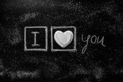 Miłość serca na drewnianym tekstury tle Walentynka dnia karty pojęcie Serce dla walentynka dnia tła Fotografia Stock
