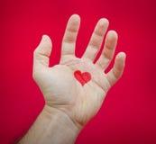 Miłość skaleczenia Obraz Stock