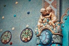 Miłość statuy obraz stock