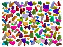 Miłość symbole Zdjęcie Royalty Free
