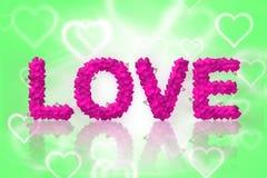 Miłość tekst ilustracja wektor