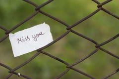 Miłość tekst Ilustracja Zdjęcie Stock