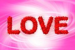 Miłość tekst robić kierowy kształt royalty ilustracja