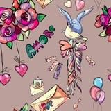 Miłość tekstury Obrazy Stock
