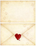 miłość twojego listu kota Zdjęcia Royalty Free