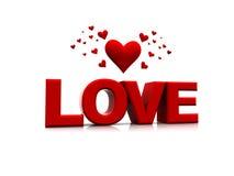 miłość valentines Obrazy Royalty Free