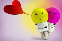 Miłość właśnie obracał dalej ilustracja wektor