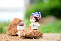 Miłość w ogródach Zdjęcia Stock