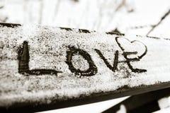 Miłość w powietrzu Zdjęcia Royalty Free