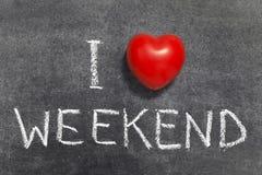 Miłość weekend obrazy stock