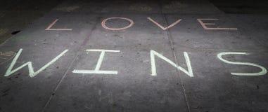 Miłość wygrany Zdjęcie Royalty Free