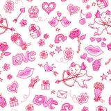 miłość wzór Zdjęcie Royalty Free