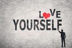 Miłość yourself fotografia stock