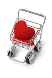 miłość zakupy Obraz Stock