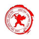 miłość znaczki Zdjęcia Royalty Free