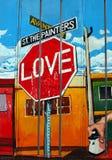 miłość znak ruchu Zdjęcia Royalty Free
