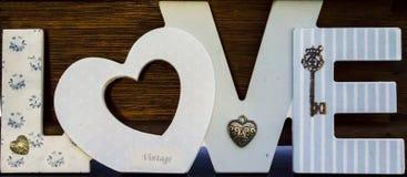 Miłość znaki Fotografia Stock