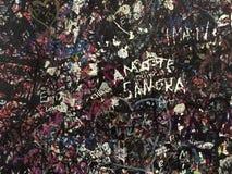 Miłości ściana przy Juliets domem Zdjęcie Stock