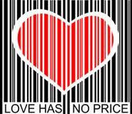 miłości żadna cena Obrazy Stock