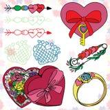 4 miłości Obraz Stock