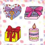 5 miłości Obrazy Royalty Free