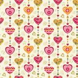 miłości bezszwowy deseniowy Obraz Stock
