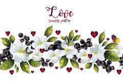 miłości bezszwowy deseniowy Zdjęcia Royalty Free