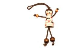 Miłości Ceramiczna lala Zdjęcie Royalty Free