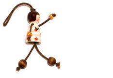 Miłości Ceramiczna lala Obrazy Stock
