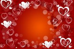 miłości czerwień Fotografia Royalty Free