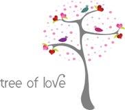 miłości drzewo Zdjęcia Stock