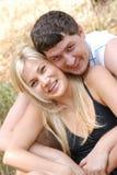 Miłości dziewczyna i mężczyzna fotografia royalty free