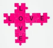 Miłości etykietka Zdjęcia Stock